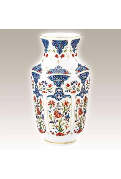 Kütahya Porselen El Yapımı Vazo No 24