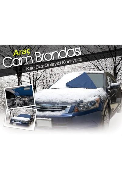 Pratik Kar Buz Önleyici Araç Ön Cam Brandası