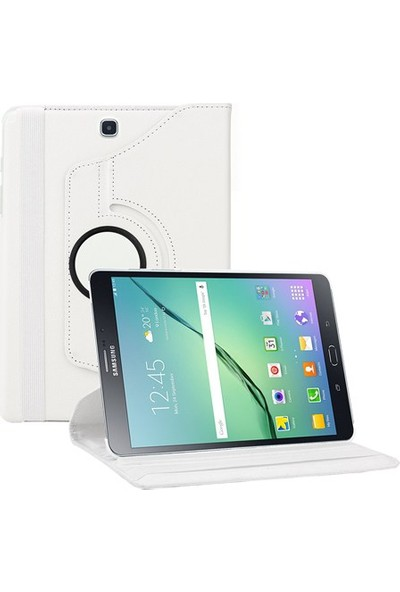Serhan Sıfırbir Samsung Galaxy Tab A T350 360° Dönebilen Standlı Kapaklı Kılıf