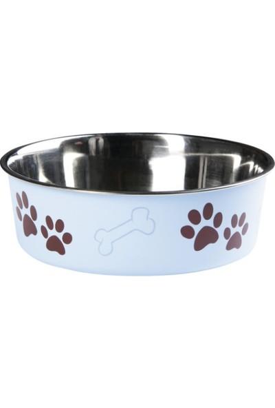 Karlie Bella Kedi Köpek Mama Kabı Açık Mavi 14Cm