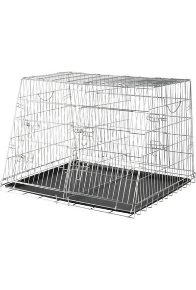 Trixie İki Köpek Taşıma Galvaniz Kafes 93 Cm X 68 Cm X 79 Cm