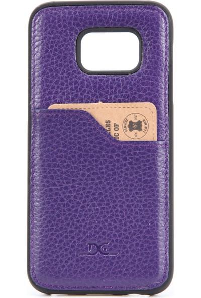 DC Galaxy S7 Deri Arka Kapak Kartlık