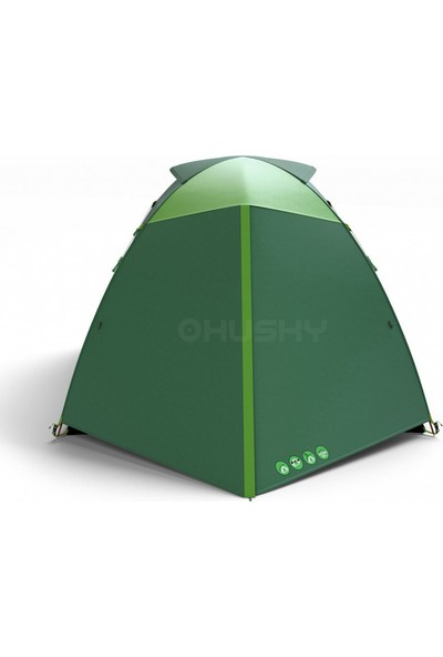 Husky Boyard 4 Kısılık Çadır Klasik Yeşil