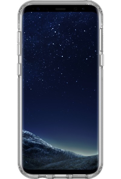 OtterBox Samsung Galaxy S8 Plus Symmetry Clear Kılıf Crystal Clear