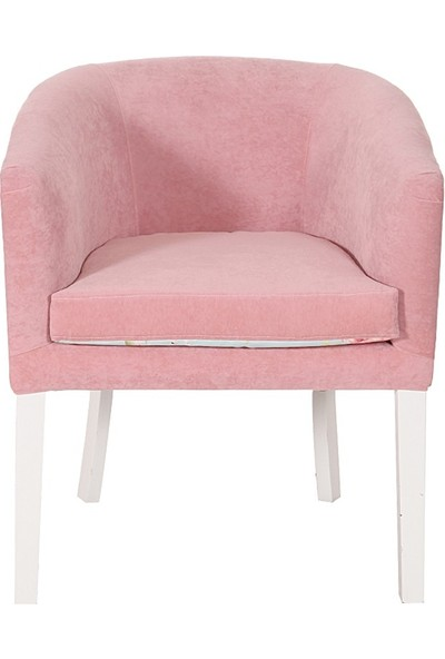3A Mobilya Pink Word Oval Berjer