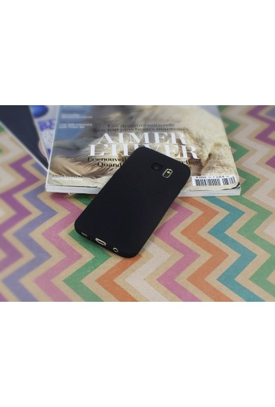 Eiroo Samsung Galaxy S7 Mat Silikon Kılıf