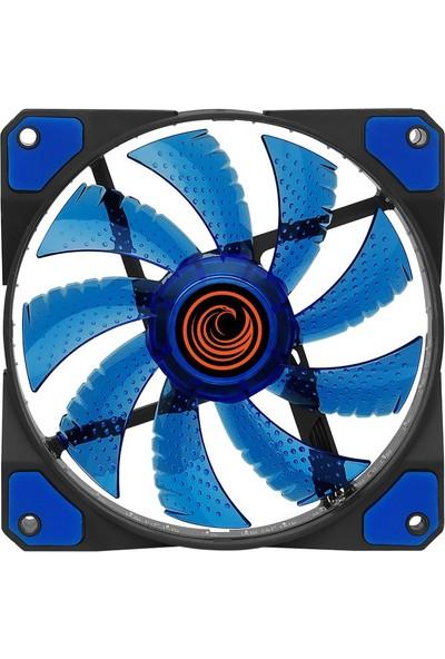 Gamemax GF-F1238B 33 LED 12cm Kasa Fanı (Mavi)