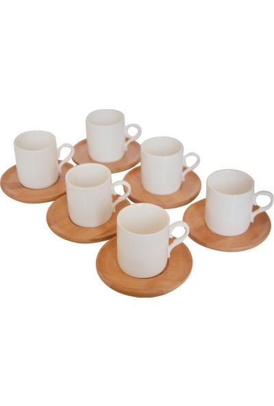 Bambum Sosa - 6 Kişilik Kahve Takımı