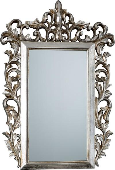 Vitale Fransız Stil Gümüş Varak Ayna