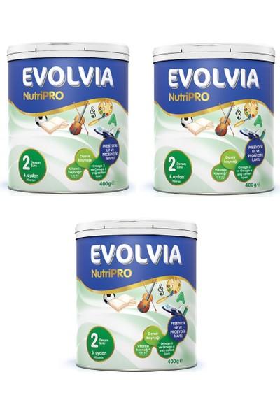 Evolvia NutriPRO 2 Devam Sütü 400 gr - 3'lü