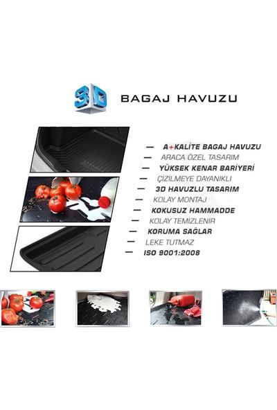 Dacia Sandero 3D Bagaj Havuzu 2008 ve Sonrası