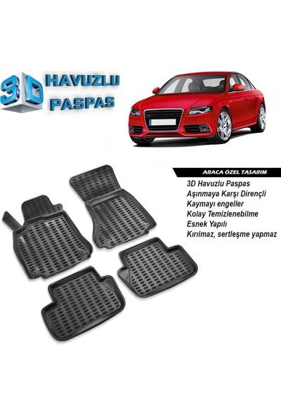 Audi A4 B8 3D Havuzlu Paspas 2007-2015 arası A+Plus