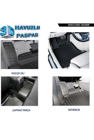 Renault Clio 4 3D Havuzlu Paspas A+Plus