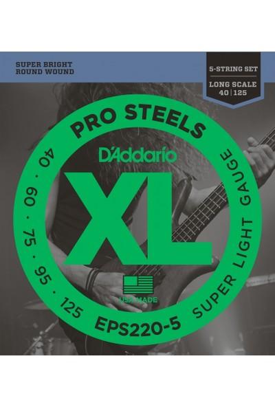 Daddario EPS220-5 Bas Gitar Teli