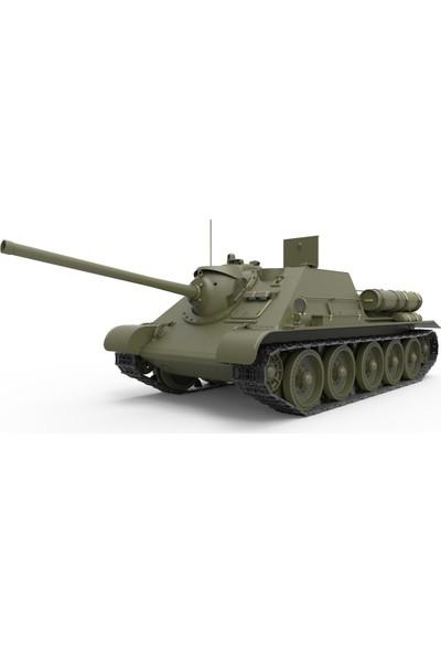Miniart 1/35 Ölçek Plastik Maket, Su-85 1943 Model İç Yapısıyla, Orta Dönem