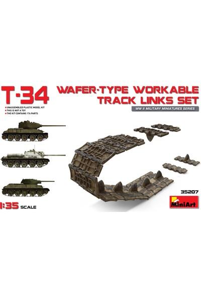 Miniart 1/35 Ölçek Plastik Maket, T-34 Gofre Tipi Çalışabilir Palet Bağlantı Seti