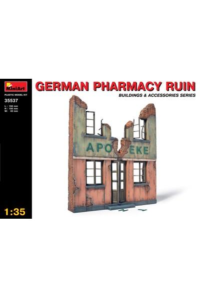Miniart 1/35 Ölçek Plastik Maket, Yıkık Alman Eczanesi