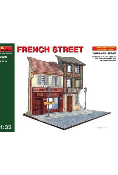 Miniart 1/35 Ölçek Plastik Maket, Fransız Sokağı