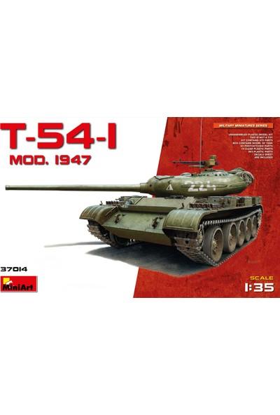 Miniart 1/35 Ölçek Plastik Maket, T-54-1 Sovyet Orta Tank Md 1947