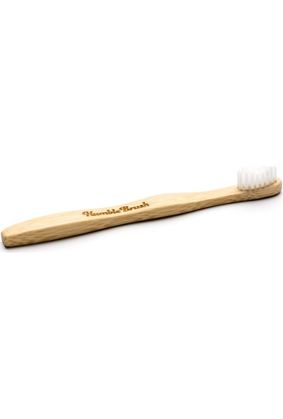 Humble Brush Kids White - Ultra Soft (Beyaz)