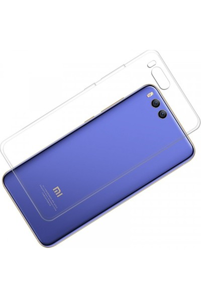 Case 4U Xiaomi Mi 6 Kılıf Silikon Şeffaf