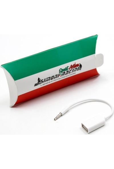 Simoni Racing AUX Dişi USB Giriş OTG Kablosu 422120