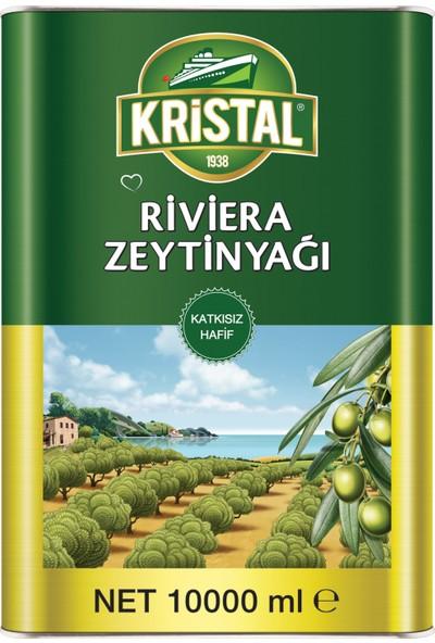 Kristal Riviera Zeytinyağı Teneke Kutu 10 Litre