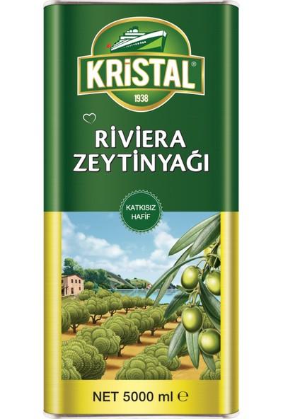 Kristal Riviera Zeytinyağı Teneke Kutu 5 Litre