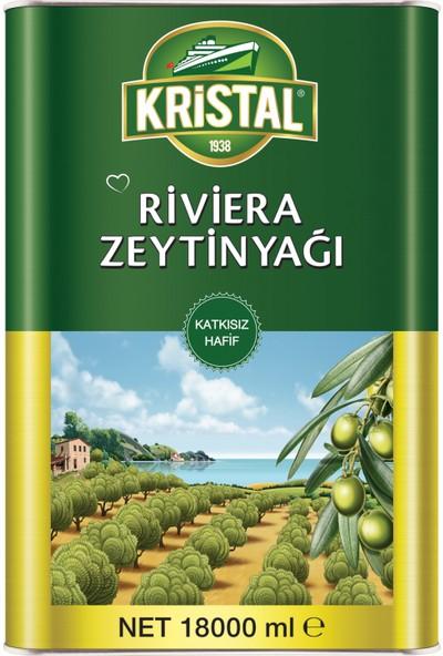 Kristal Riviera Zeytinyağı Teneke Kutu 18 Litre