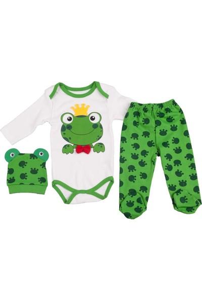Pearly Yeşil Erkek Kurbağa 3'lü Set