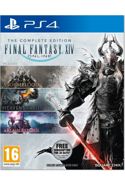 Final Fantasy XIV The Complete Edition PS4 Oyun