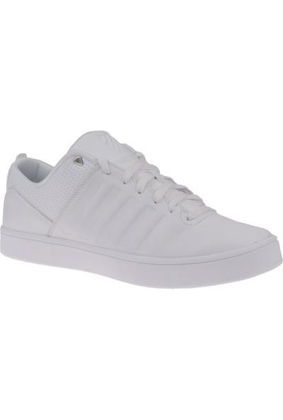 K-Swiss White White 05404-101-M Court Westan Kswiss Ayakkabı