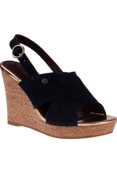 Tommy Hilfiger Tommy Navy Fw0Fw00819 Tommy E1285Del 6B Sandalet