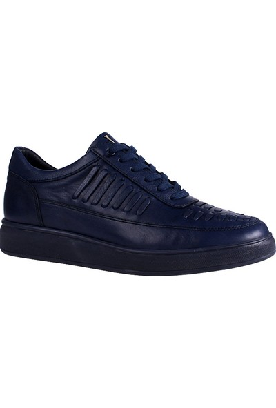 John May Navy Blue Ed-7471 John May Ayakkabı
