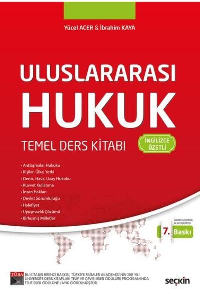 Uluslararası Hukuk Temel Ders Kitabı(İngilizce Özetli)