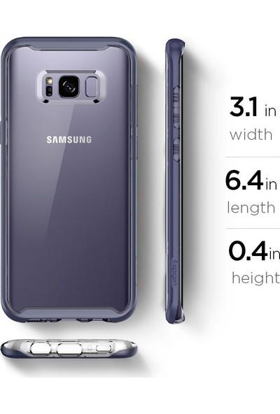 Spigen Samsung Galaxy S8 Plus Kılıf Neo Hybrid Crystal Orchid Gray - 5710521656