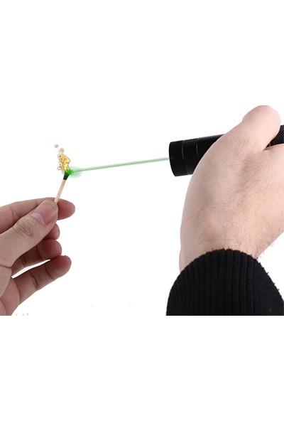 Wildlebend Yeşil Şarjlı Lazer Pointer 5000mw (Yakıcı)