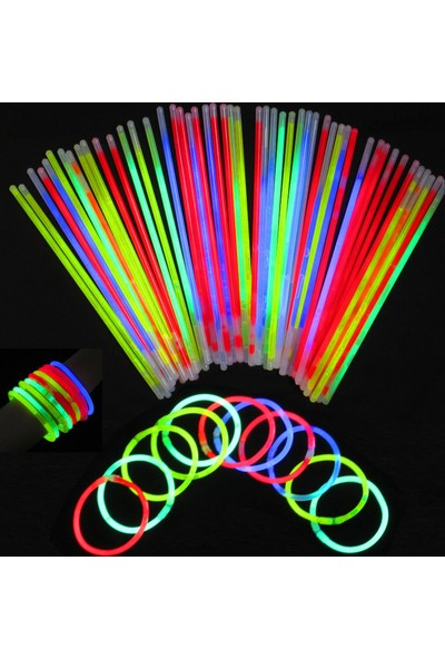 Wildlebend Glow Stick Fosforlu Kırılan Çubuk (100 Adet)