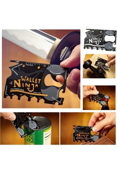 Wildlebend Ninja Wallet 18 in 1 Multi Tool Kit