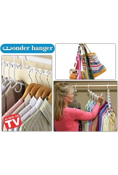 Wildlebend Wonder Hanger! 8 Adet Dolap Askılığı