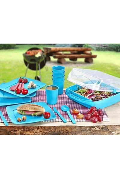 Wildlebend 6 Kişilik Çantalı Piknik Seti