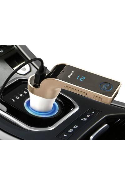 Wildlebend Carg7 Bluetooth Araç FM Transmitter Usb Girişli