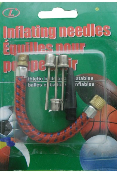 Wildlebend Ayak Pompası 5li Uç Set - Balon - Top Pompası Uç Seti