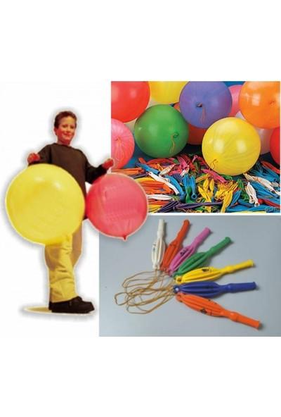 Wildlebend Lastikli Punc Balon - 50 Adet
