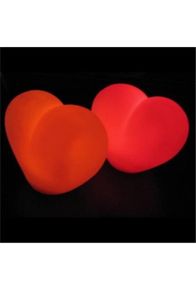 Toptanciniz Dekoratif Kırmızı Kalp Led Işık
