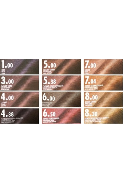Biopoint Orovivo Elisir Colore Saç Boyası 1.00 Black - Siyah