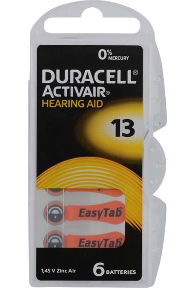 Duracell 13 Kulaklık Pili 6Lı Blister