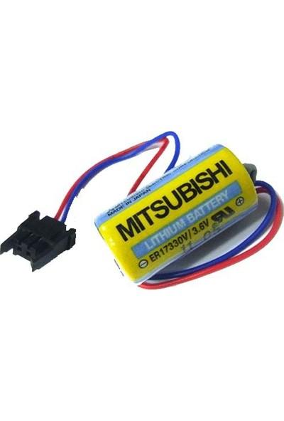 Mitsubishi A6Bat Er17330 3.6V Lithium Pil