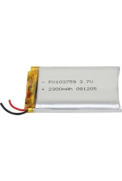 Power-Xtra Px103759 2300 Mah Li-Polymer Pil
