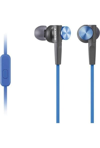 Sony Mdr-XB50APL Ekstra Bas Mikrofonlu Kulak İçi Kulaklık Mavi